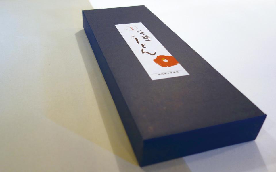 五島うどんのジギフト商品用パッケージデザイン