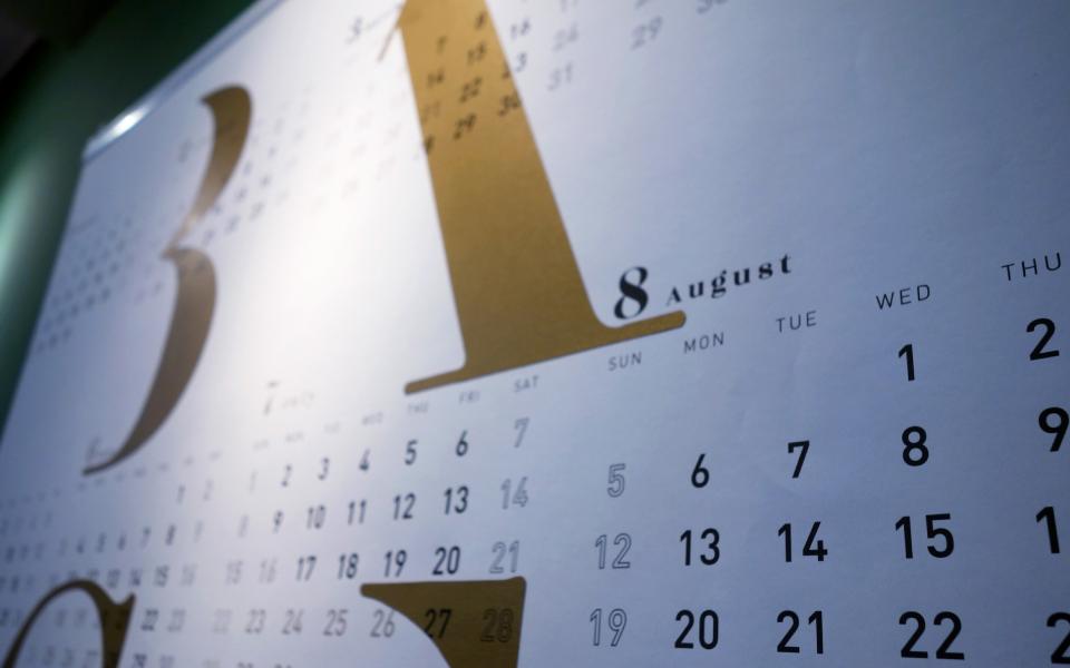福岡にあるデザイン事務所のオリジナル2018年度カレンダー